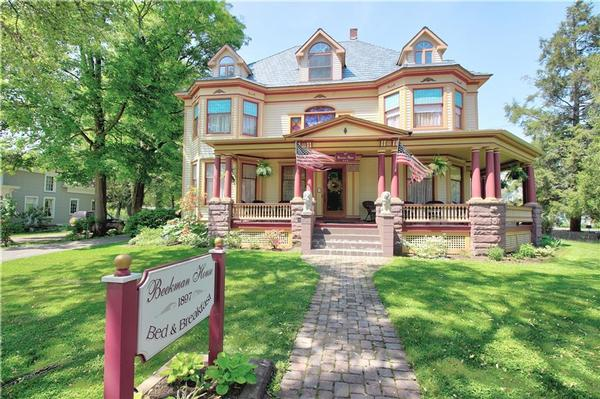 1897 Beekman House Is A Bed And Breakfast For Sale In